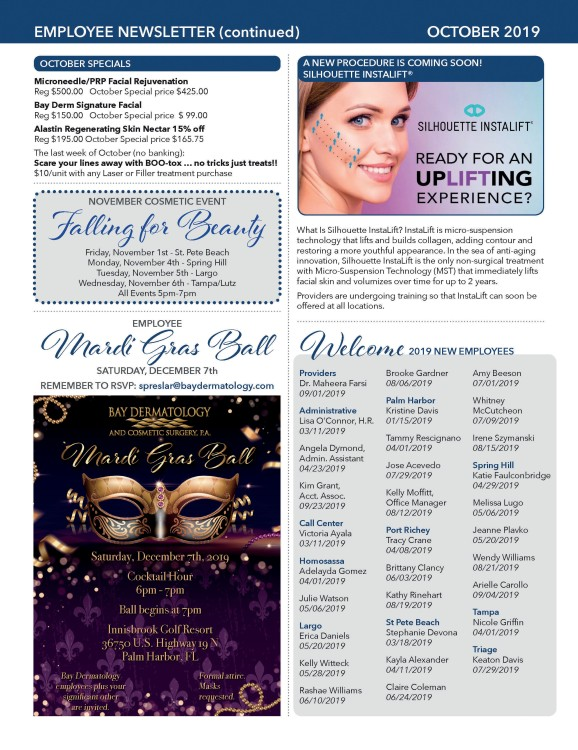 Bay Derm Newsletter_employee_Oct2019_Final 2